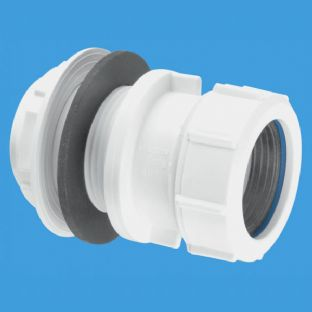 "T11M 1 1/2"" Multifit Tank Connector. McAlpine"